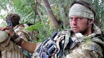 After serving in Afghanistan, Lance Sergeant Dan Collins was diagnosed with post-traumatic stress disorder